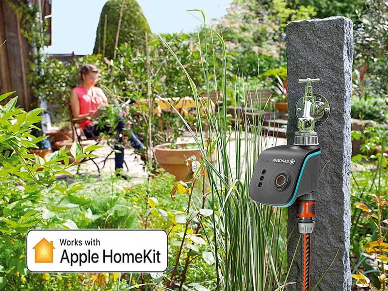 Apple HomeKit Gardena smart system