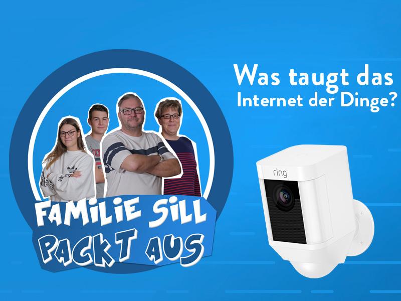 Familie Sill Ring Spotlight Cam Video
