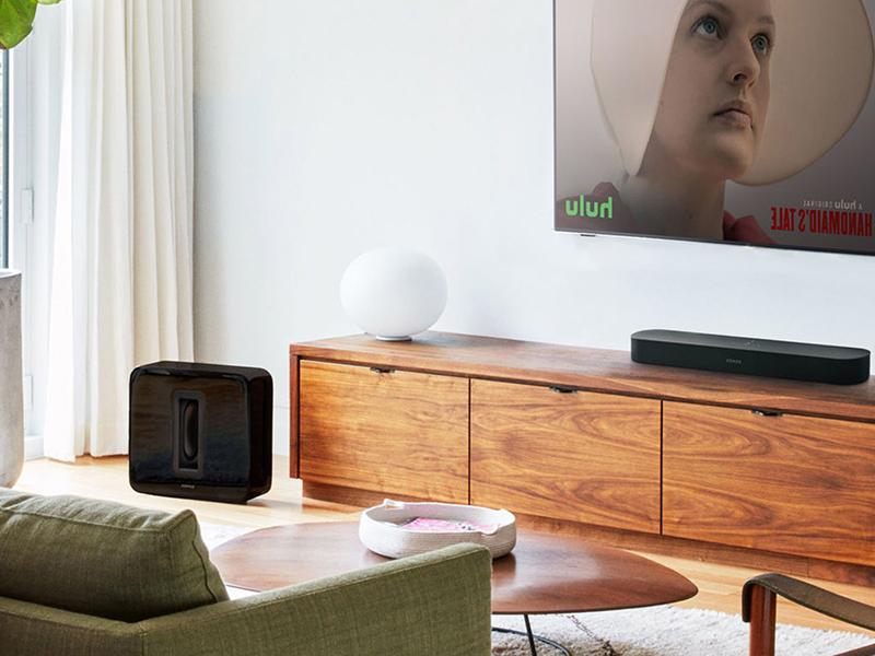 Sonos Set im Wohnzimmer