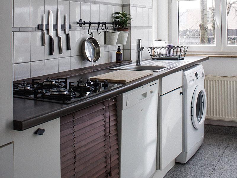 Lifestyle-Küche-Waschmaschine-Spülmaschine