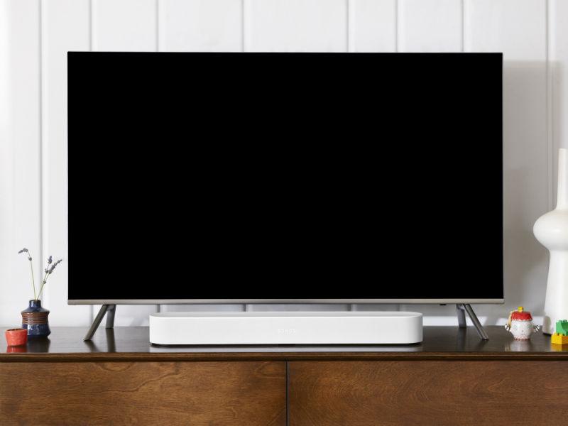 SONOS-Beam-auf-Sideboard