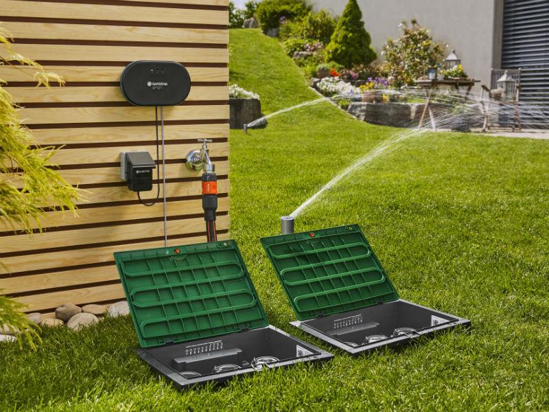 Smarte Bewässerungssysteme im Vergleich wie die GARDENA smart Irrigation Control