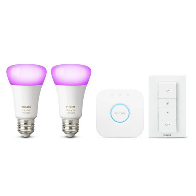 Philips Hue Color E27 Starter Kit Kaufen Tink