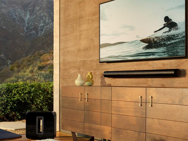 Sonos Arc Soundbar: Mit Dolby Atmos und Apple HomeKit.