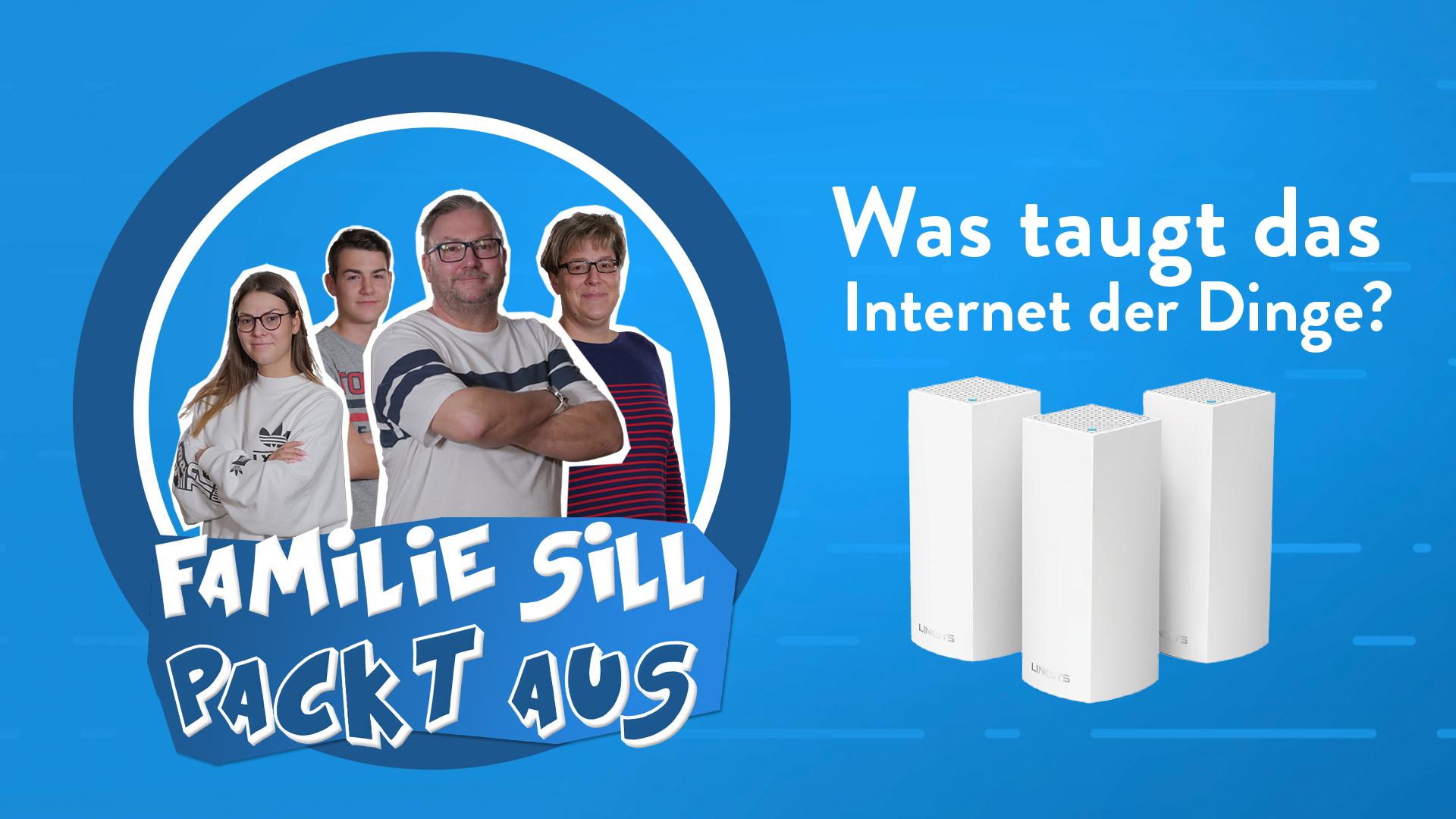 Familie Sill packt aus: Linksys Velop das smarte WLAN