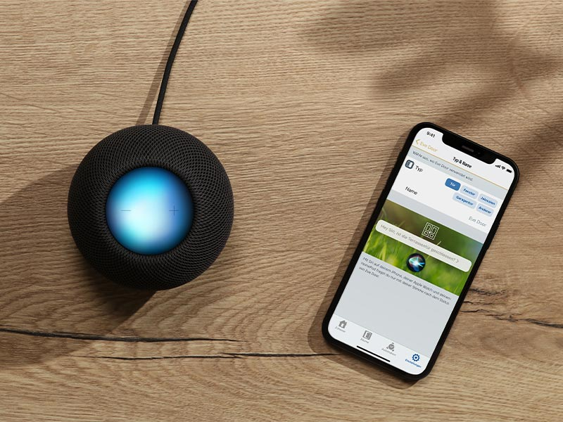 Thread mit HomeKit - HomePod Mini und iPhone