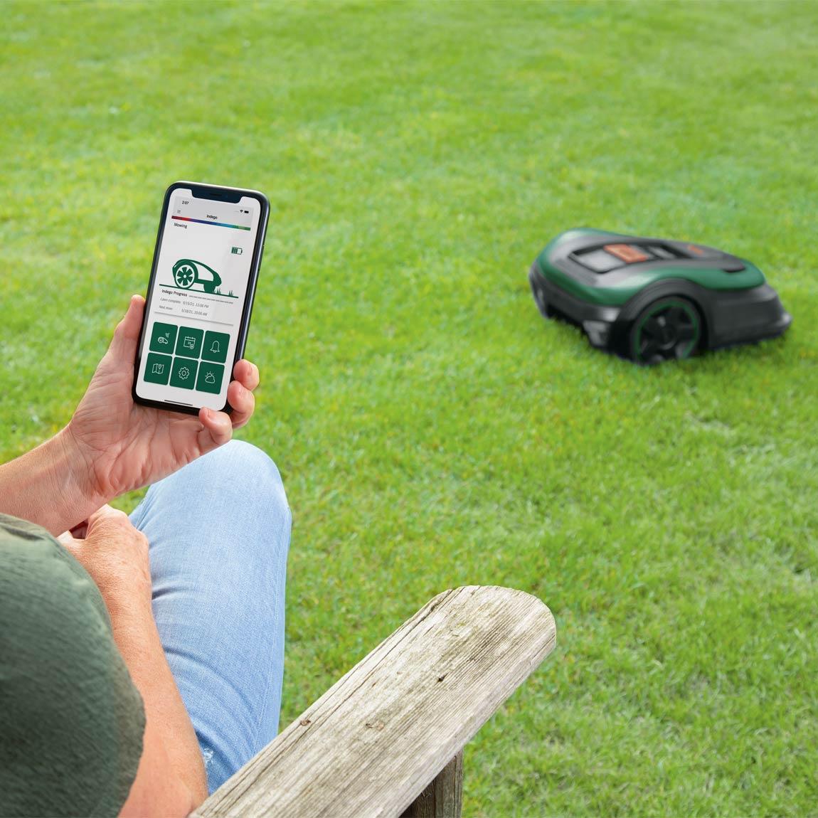 Bosch Indego S+ 500 mit App- und Sprachsteuerung