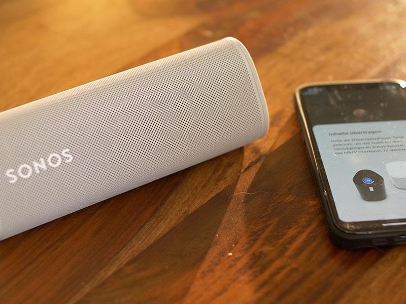 Sonos Roam per App installieren