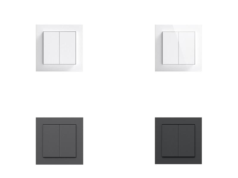 Senic Friend of Hue Smart Switch - Smarter Lichtschalter für HomeKit in vier Farben
