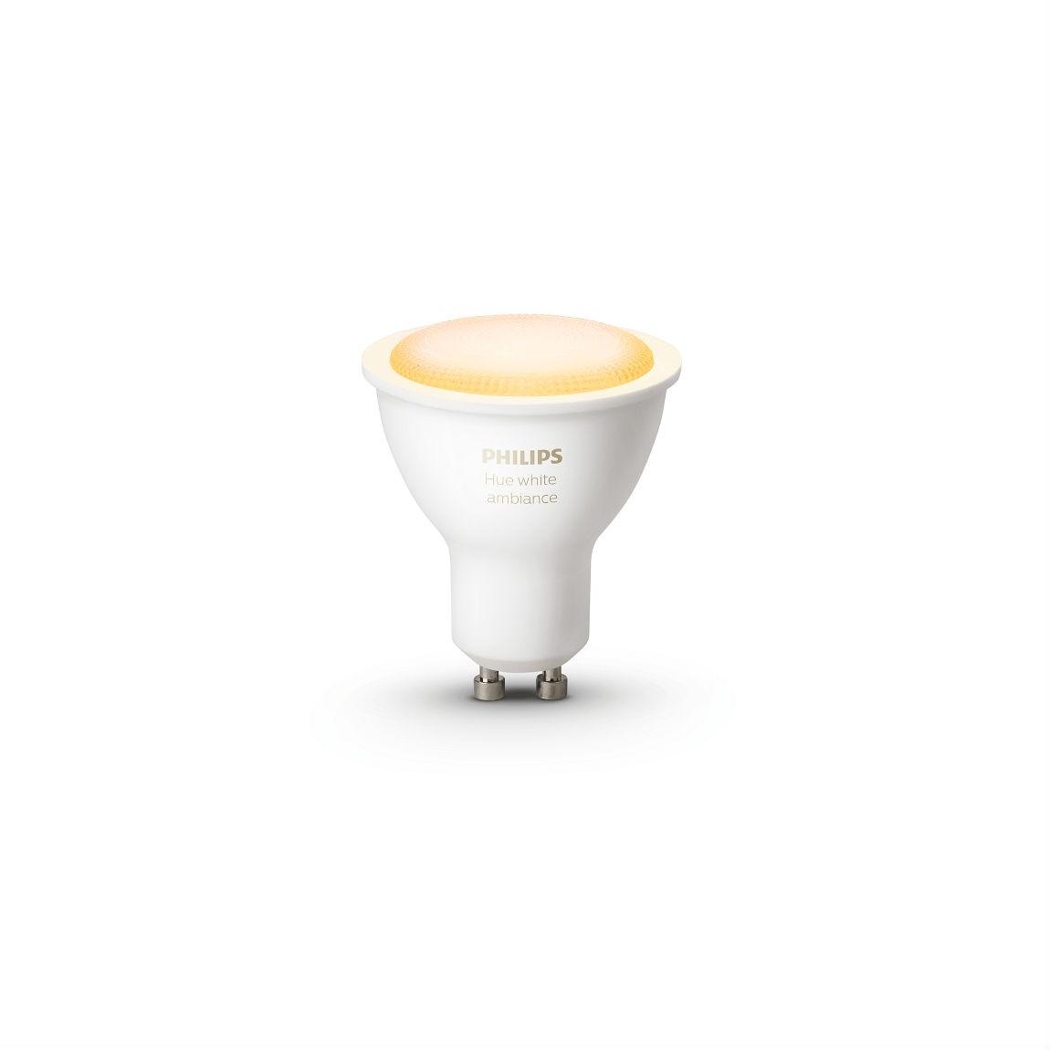 Philips Hue White Ambiance GU10 - LED-Lampe