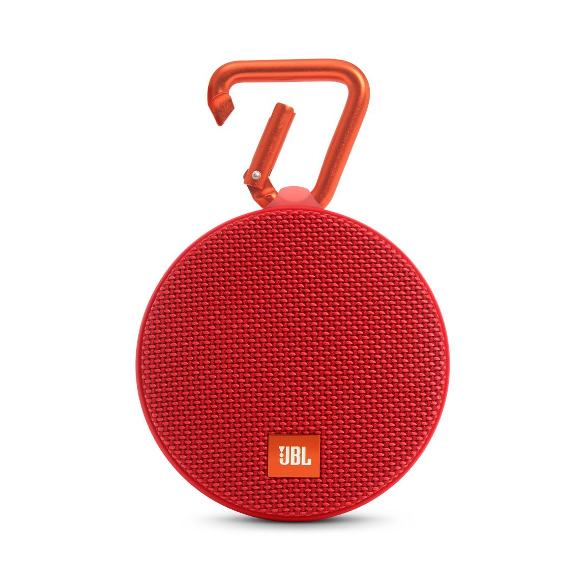 JBL Clip 2 - Bluetooth-Lautsprecher - Rot