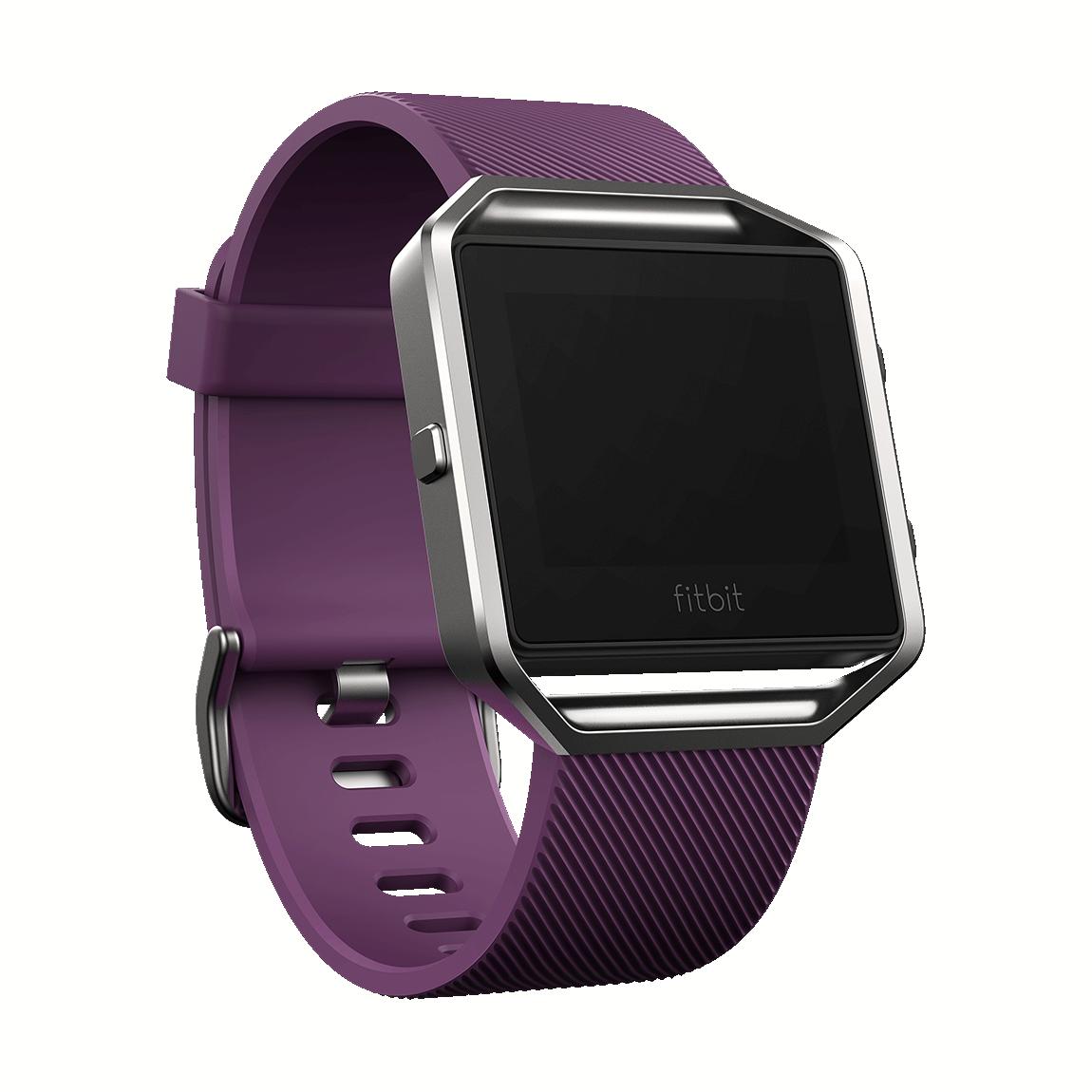 Fitbit Blaze - Fitness-Watch - Plum Large