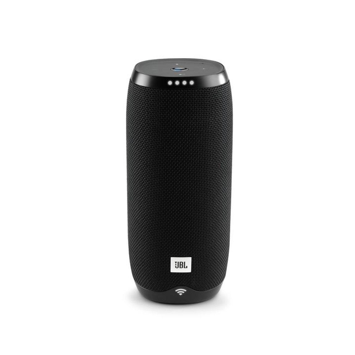 JBL Link 20 - Tragbarer Lautsprecher mit Sprachsteuerung - Schwarz