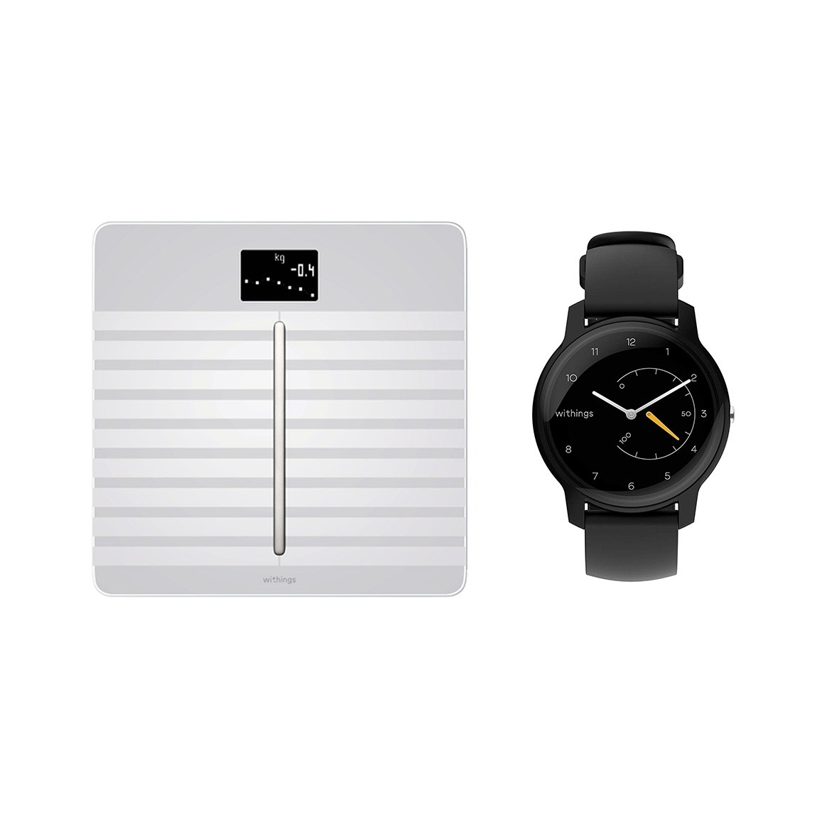 Withings/Nokia Body Cardio + Withings Move - Fitnessuhr