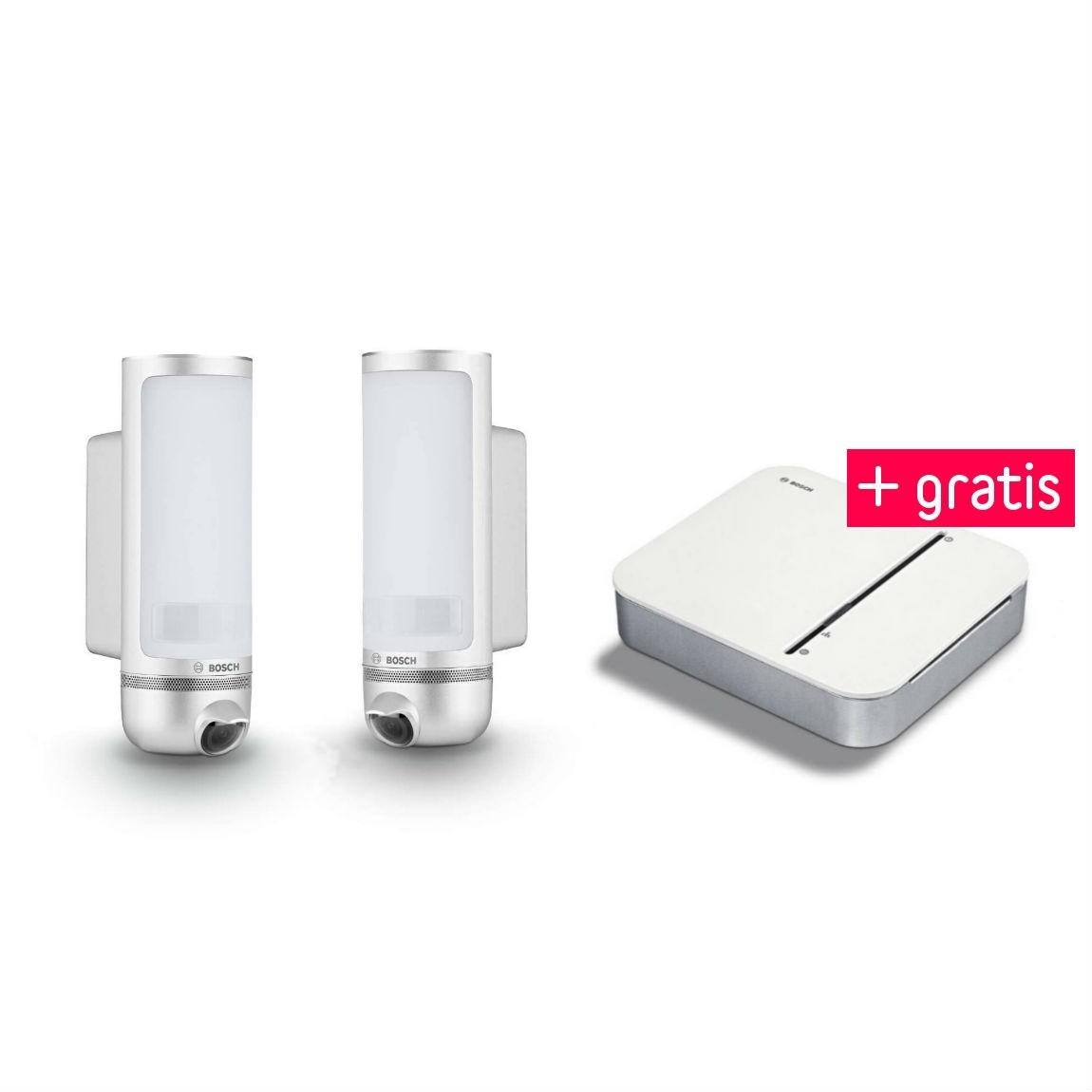 Bosch Smart Home Eyes (Doppelpack) - Außenkamer...