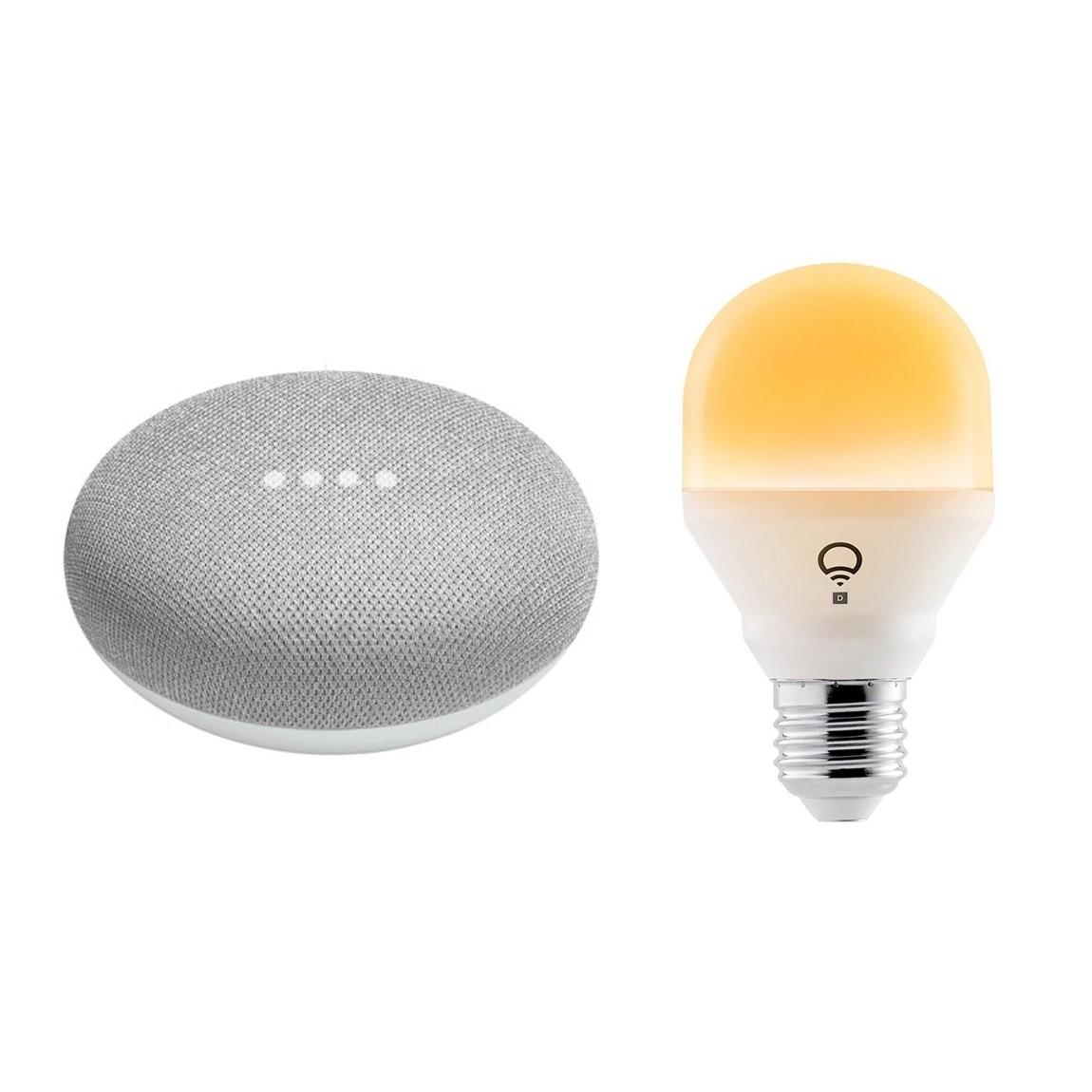 Google Nest, LIFX Google Home Mini + LIFX Mini Day & Dusk