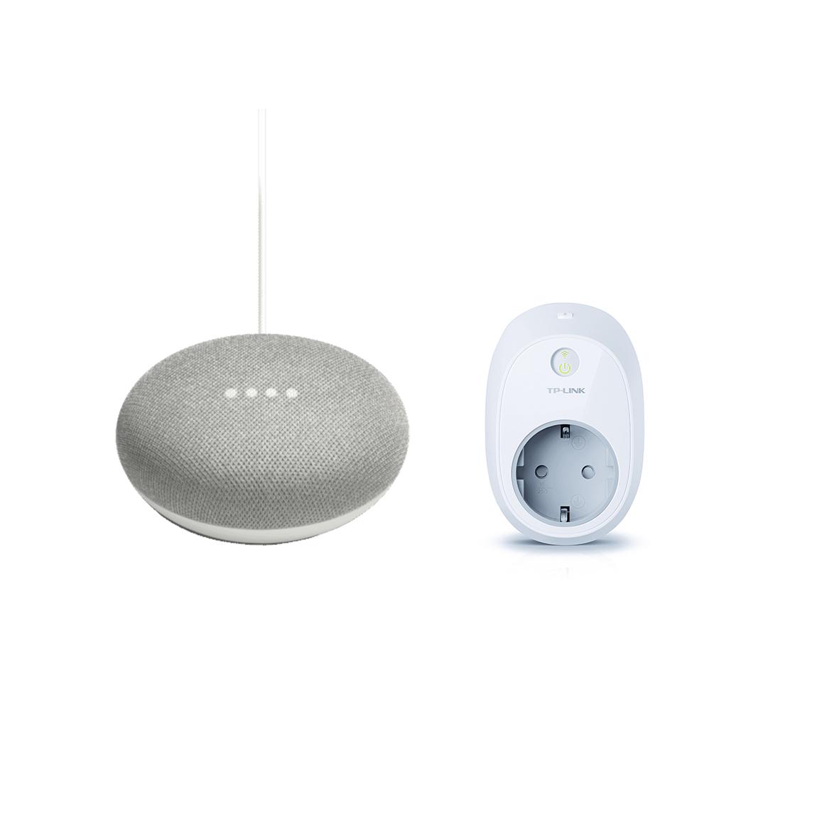 Google Nest, TP-Link Google Home Mini + TP-Link HS100