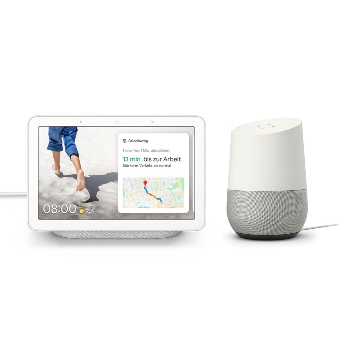 Google Nest Hub + Google Home
