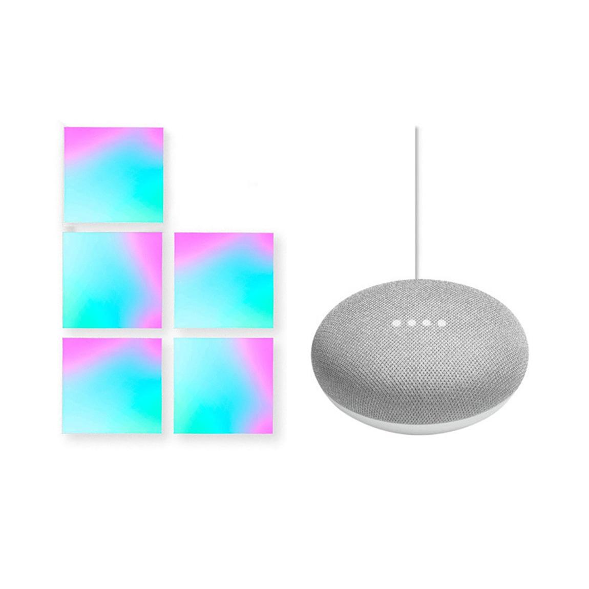 Google Nest, LIFX LIFX Tile Kit + Google Home Mini