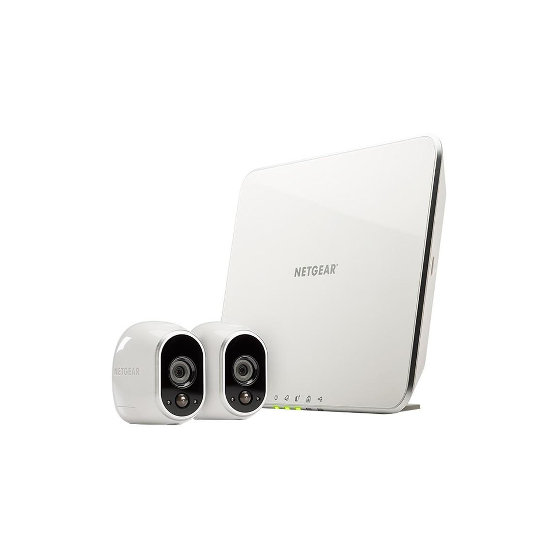 Netgear Arlo Set - Sicherheitssystem mit 2 HD K...