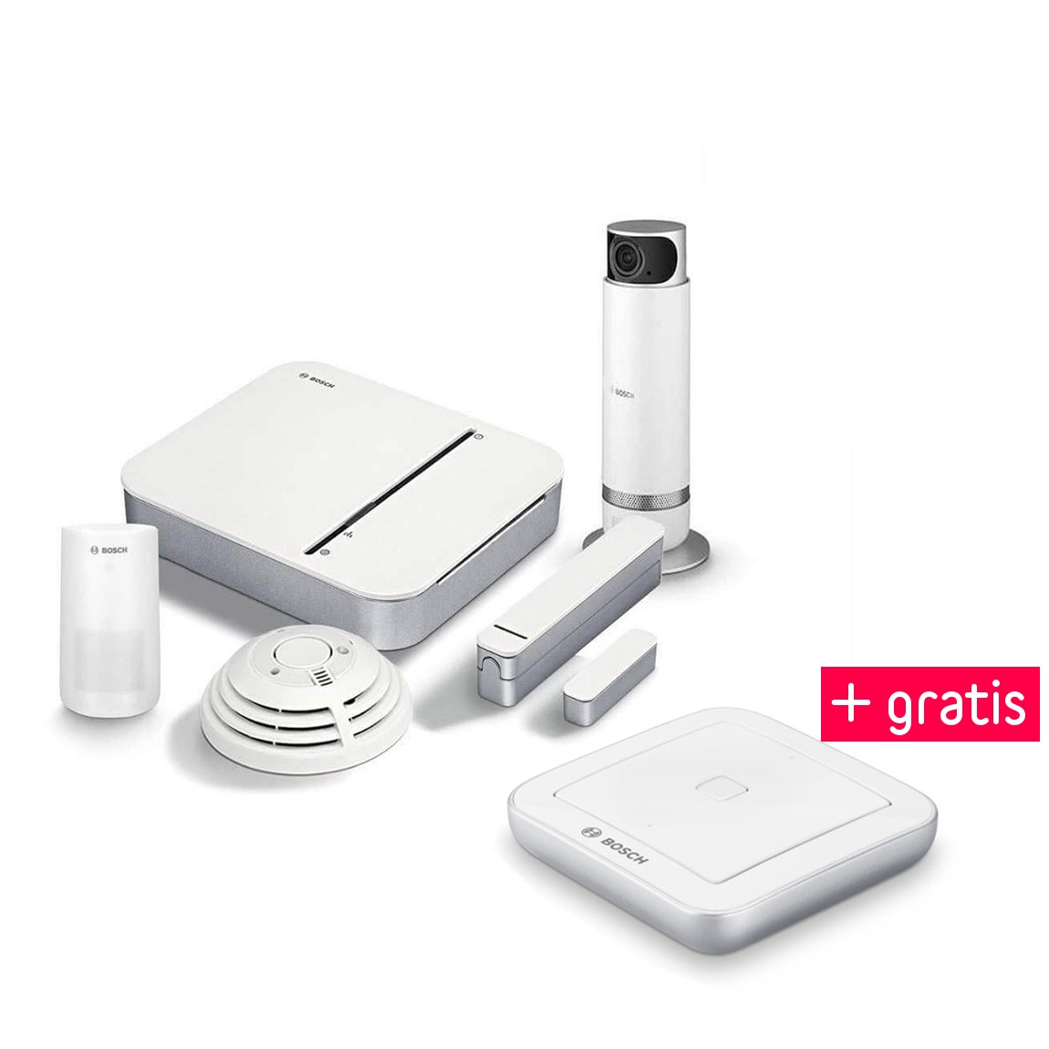 Bosch Smart Home - Starter Set Sicherheit + 360...