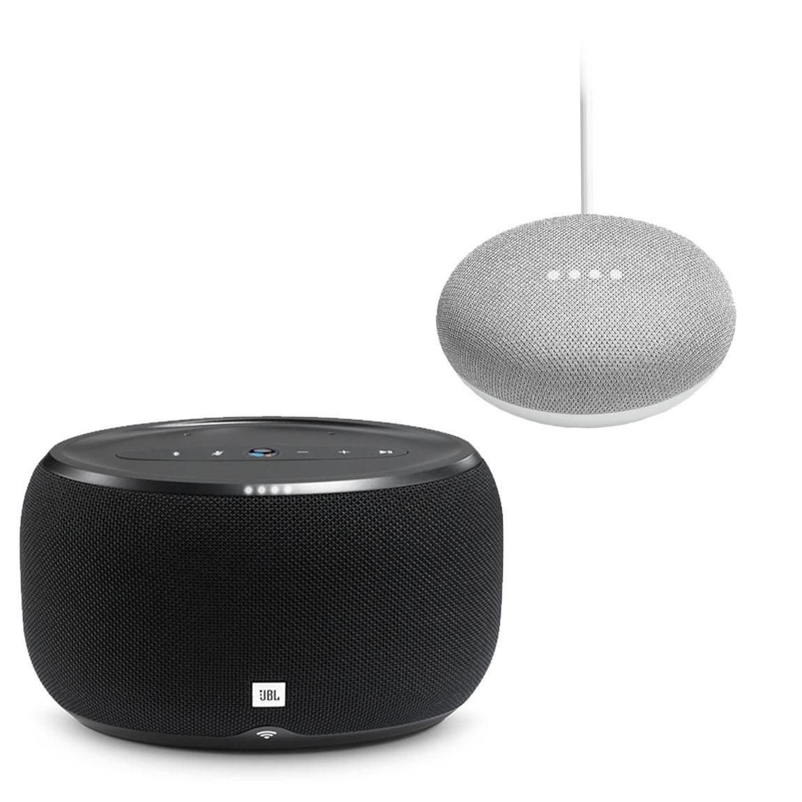 JBL link 300 + Google Home Mini