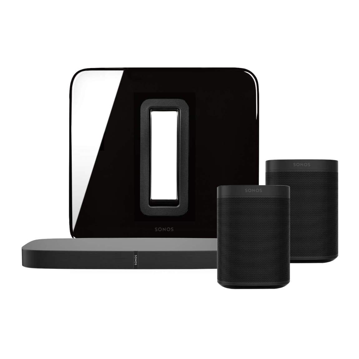 Sonos One PLAYBASE 5.1 Heimkino Set