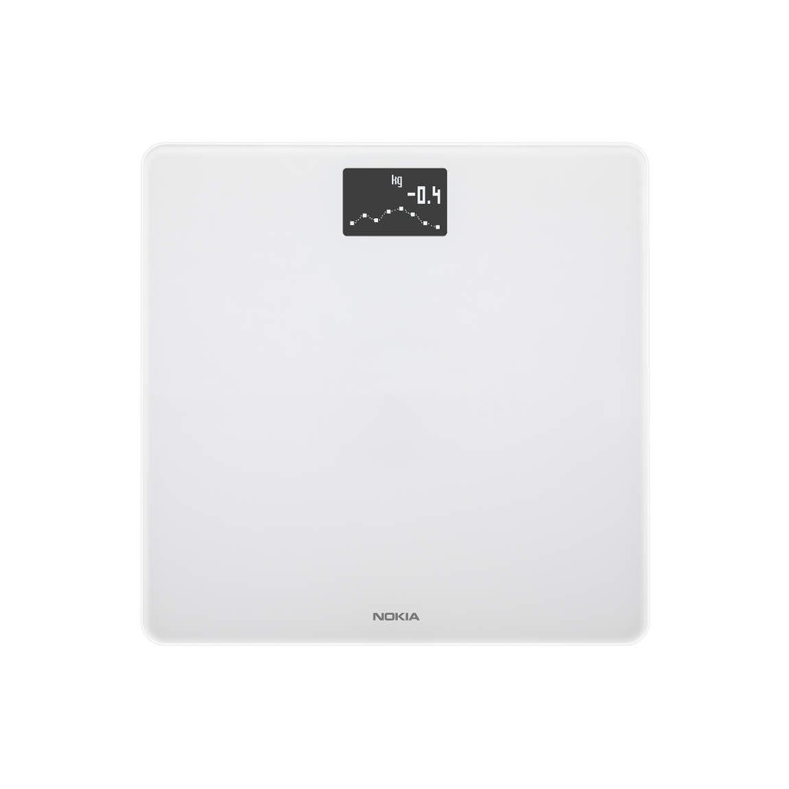Nokia Body - WLAN-Körperwaage mit BMI-Funktion - Weiß