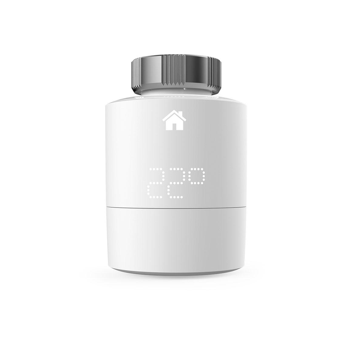 tado° Smartes Heizkörper-Thermostat - Zusatzprodukt für Einzelraumsteuerung