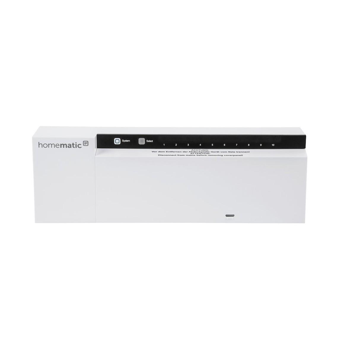 Homematic IP Fußbodenheizungsaktor - 230 V - Weiß
