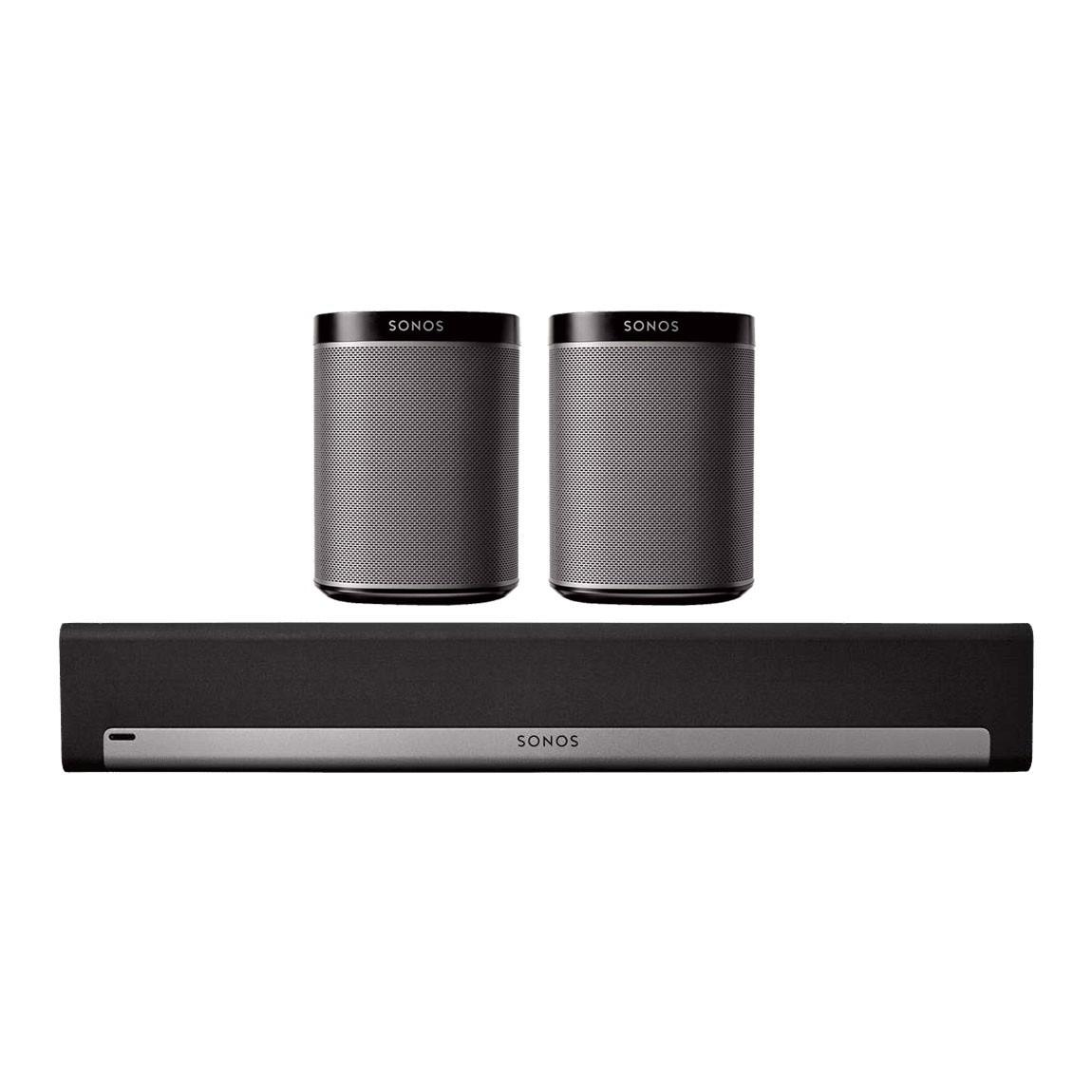 Sonos Playbar + Sonos PLAY:1 TV Paket 2