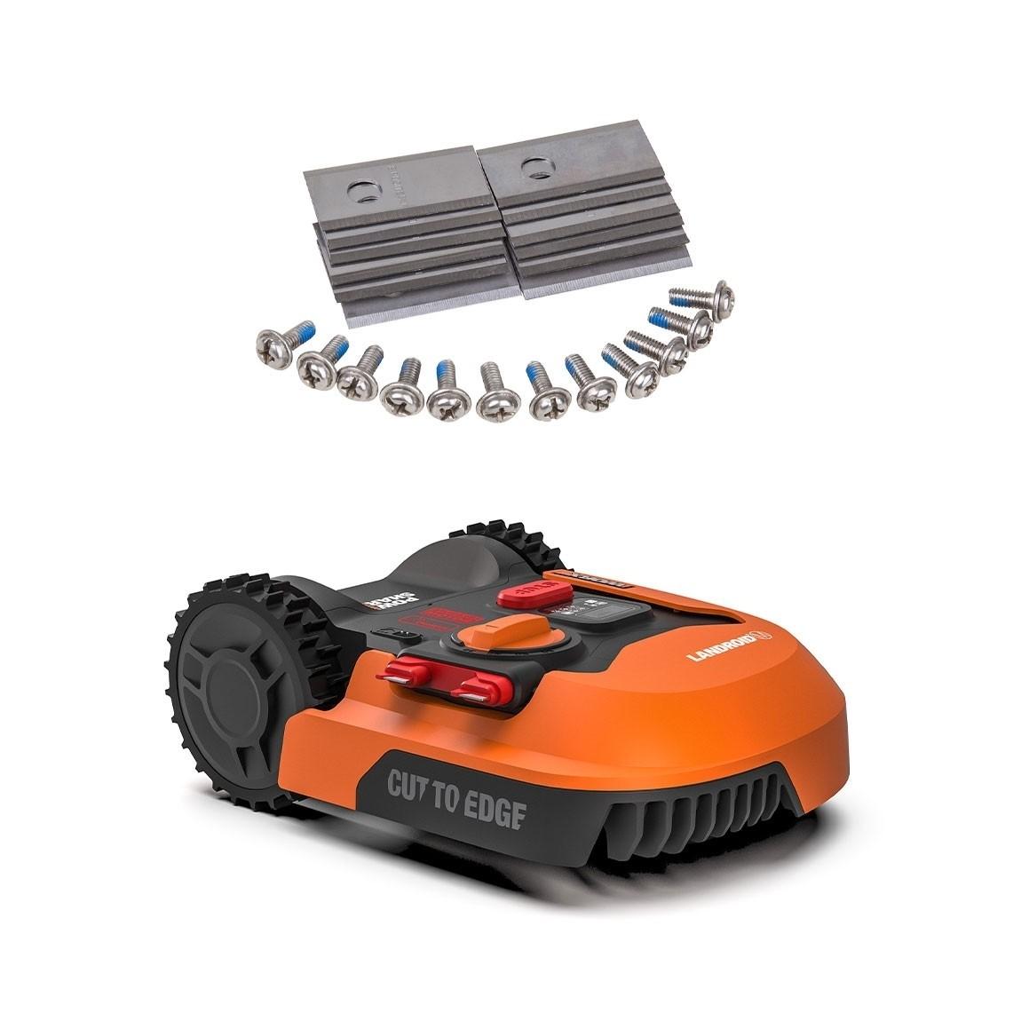 Worx Landroid M1000 - Mähroboter - Modell 2019 + gratis Ersatzmesser