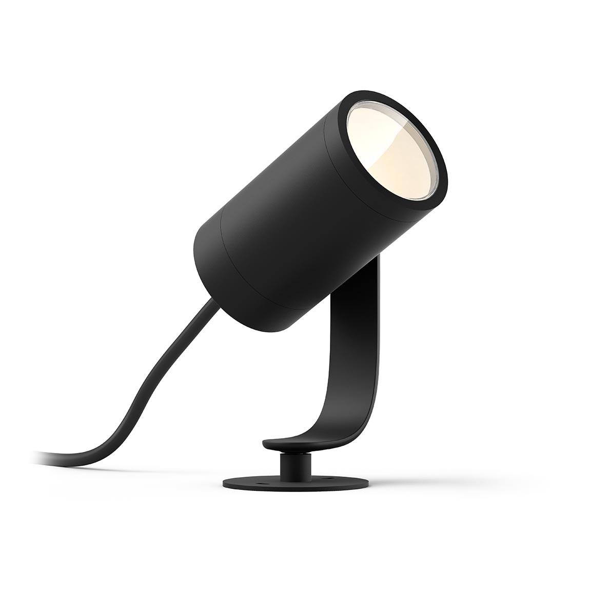 Philips Hue LED Spot Lily 1flg. 640lm Erweiterung - Schwarz