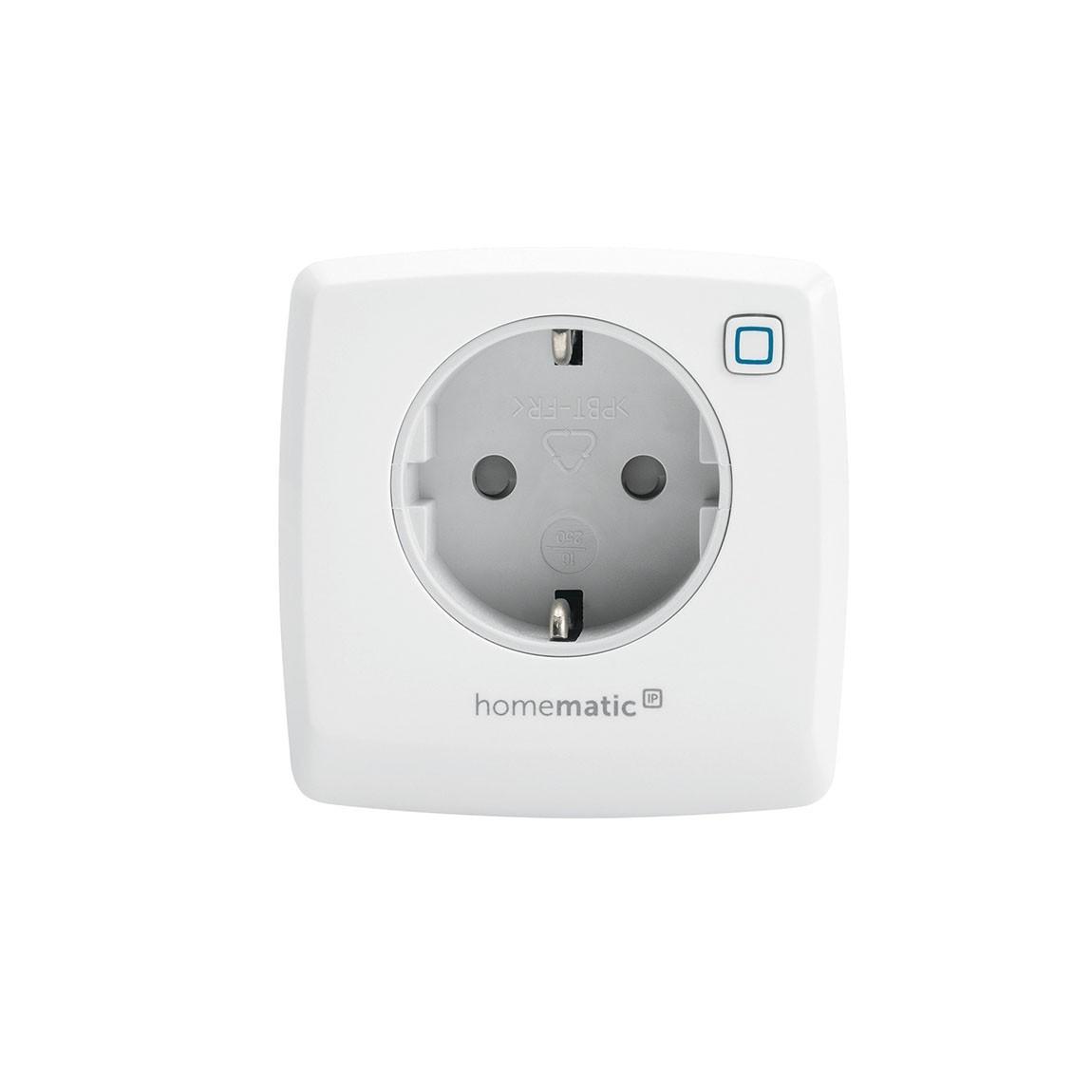 Homematic IP Schalt-Mess-Steckdose - Weiß
