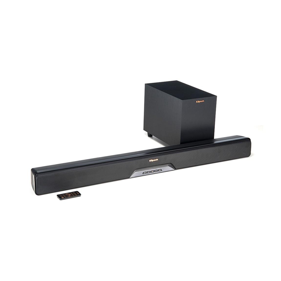 Klipsch RSB-6 - Soundbar + Wireless Subwoofer -...