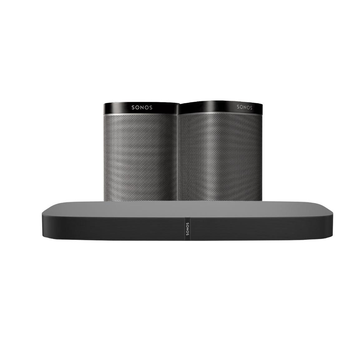 Sonos PLAYBASE TV Paket 1