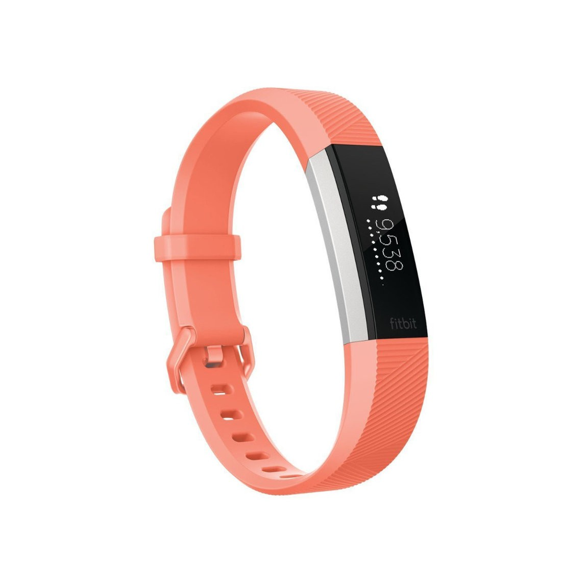 Fitbit Alta HR Fitness Band - Coral - S