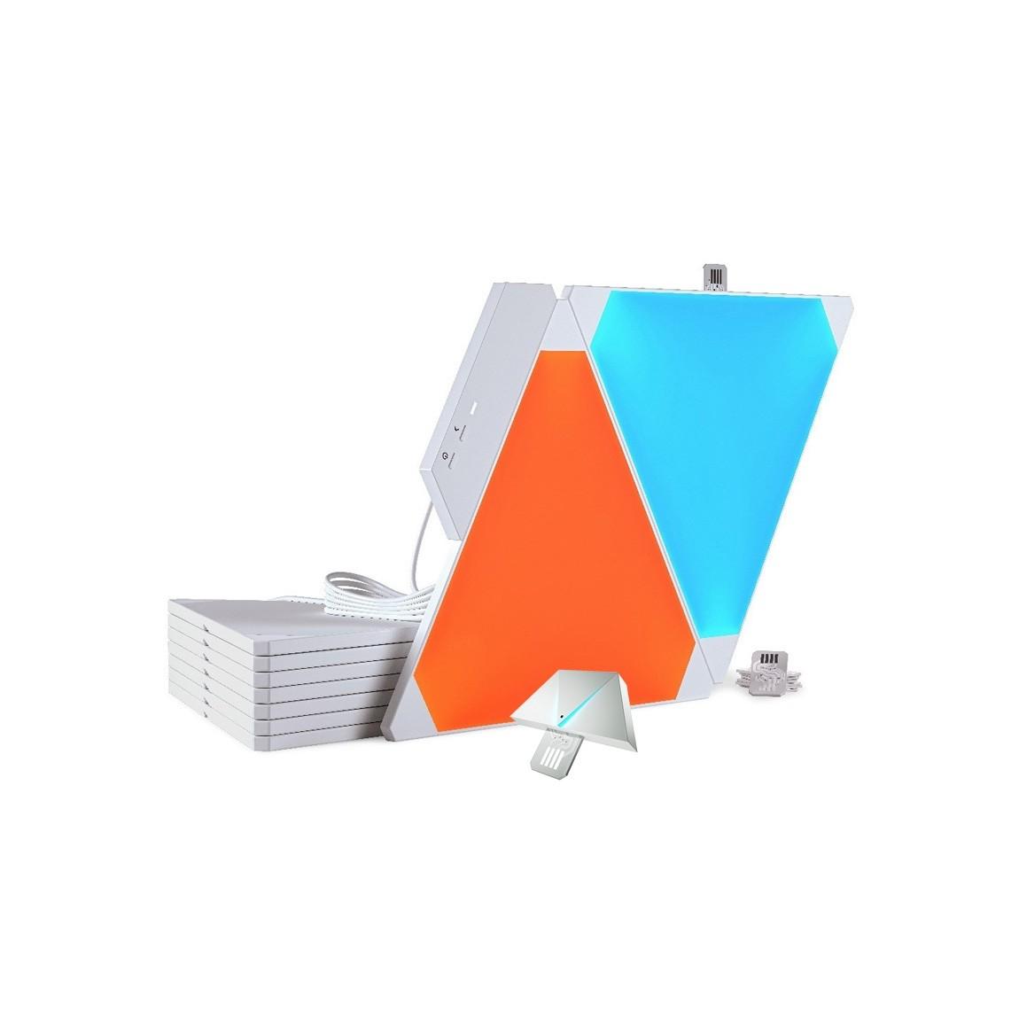 Nanoleaf Light Panels Smarter Kit + Aurora Rhyt...